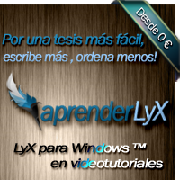 Descarga el manual LyX